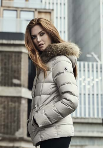 Reset. Fashionable women's outerwear